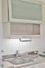 キッチン上部収納電動式昇降吊戸棚