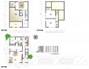 建物参考プラン(木造2階建 延床面積90.25㎡ 3SLDK+P)