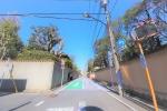 周辺道路写真 周辺は都内でも数少ない区画整理された真っ直ぐの綺麗な街並みです