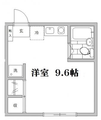 中井ハイツ広告用間取