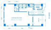 井関ビル1F平面図