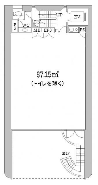1F階平面図